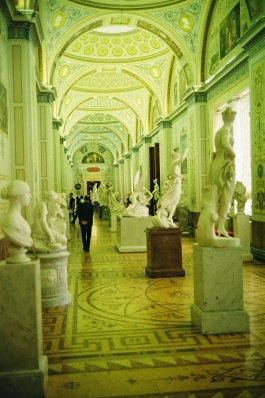 Hermitage Statues